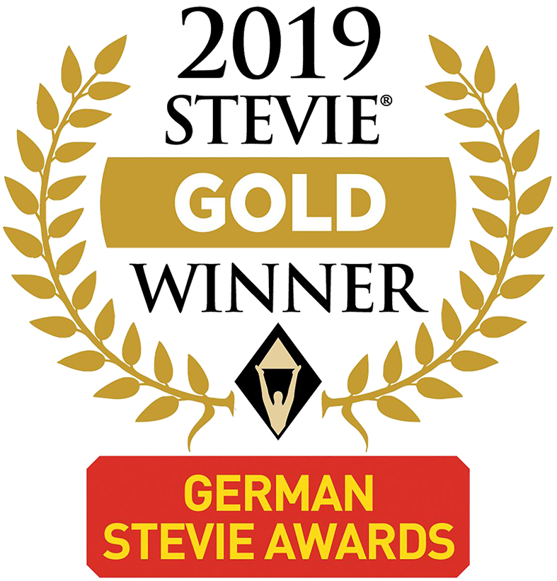 Germany Stevie Awards - Gold Winner 2019