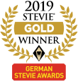 German Stevie Award - Gold Winner 2019